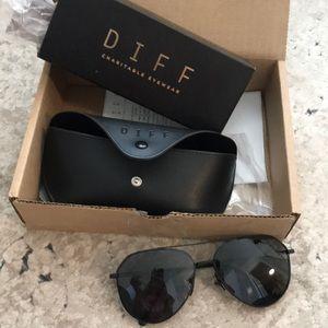 Diff DASH polarized matte black sunglasses 😎